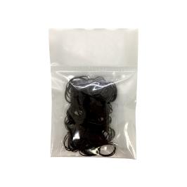 미니 머리끈 200개 (블랙)
