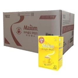 [맥심] 맥심 모카골드 마일드 커피믹스 30T (20T+10T)x24개(1박스)무료배송