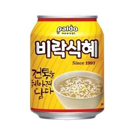팔도 비락 식혜 238ML 캔 1개 (유통기한 20년 11월)