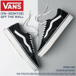 (반스)올드스쿨 블랙 VN-0D3HY28
