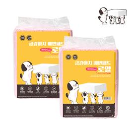 금강아지 배변패드  로얄 100매더블 1+1 (200매)