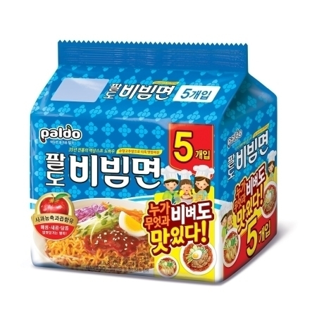 [팔도] 팔도 비빔면 5개입*1팩(8개이상 구매시 40g 김자반 1봉증정)