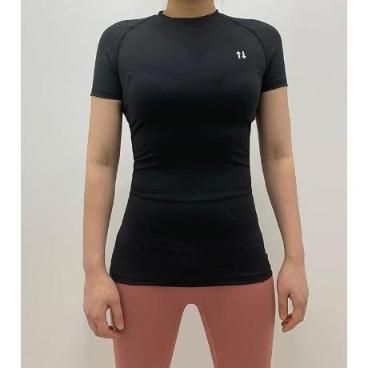 여성 필라테스 요가 반팔 티셔츠 _쏘유마켓