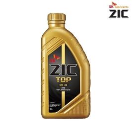 SK 루브리컨츠 ZIC TOP 지크 탑 5W30 1L PAO 기유 / 100% 정품 합성 엔진오일