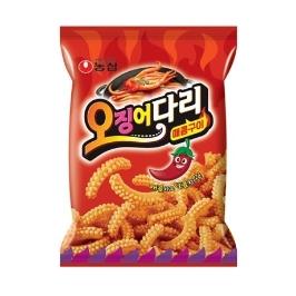 [슈퍼투데이특가] 농심 오징어다리 매콤구이 75g 20봉