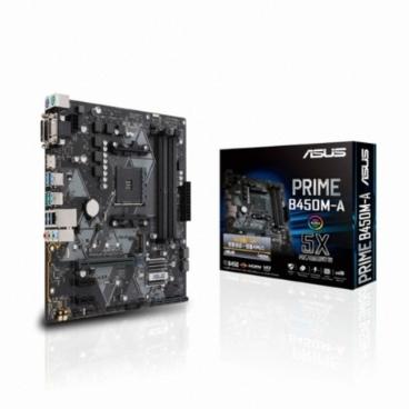 ASUS PRIME B450M-A 아이보라 라이젠 AM4 메인보드