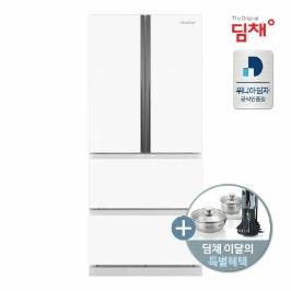 (현대Hmall)딤채 정품 20년형 스탠드 김치냉장고 EDQ57DFGYWS 551리터/4룸 전국무료설치배송