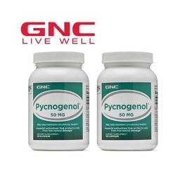 무료배송 GNC 피크노제놀 50mg 120정  1+1(총2병)