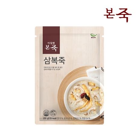행사_[본죽] 아침엔본죽 삼복죽 200g 1+1팩