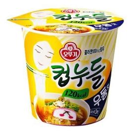[더싸다특가] 컵누들 우동맛(120Kcal) 38.1G x 6개