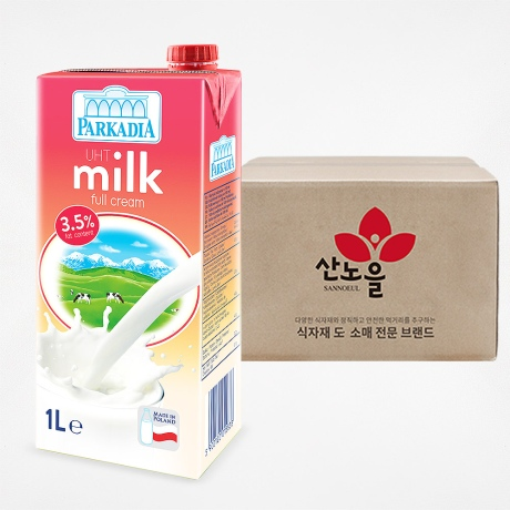 파르카디아 멸균우유 1BOX(1000mlX12개)