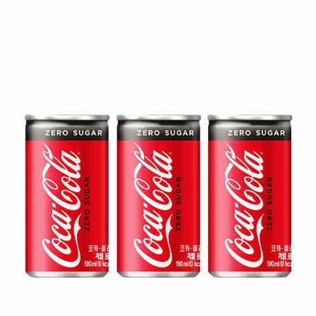 [코카콜라](현대Hmall)[코카콜라] 코크제로 190mlx30CAN
