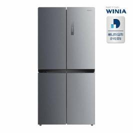 (현대Hmall)위니아딤채 정품 세미빌트인 중형냉장고 WRB480DMS 479리터/3룸 와이드형 전국무료설치배송