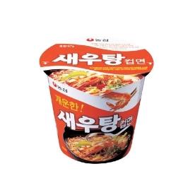 [원더배송] 농심 새우탕 소컵 67g 6컵