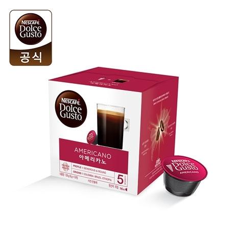 [네스카페] 네스카페 돌체구스토 아메리카노 정품 캡슐 커피 (16입)