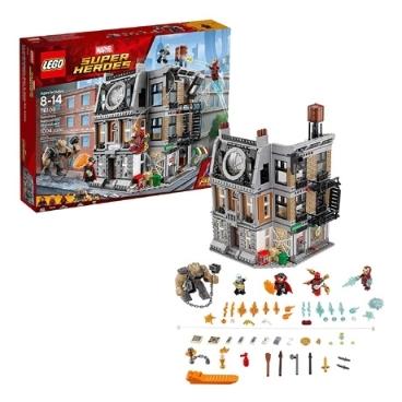 [해외배송] 정품 레고 어벤저스 닥터 스트레인지 생텀 대결 LEGO 76108