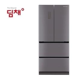 [딤채] [쿠폰+카드 1,945,000원] 공식인증점 딤채 스탠드형 김치냉장고 EDQ57CFRMJS 551L