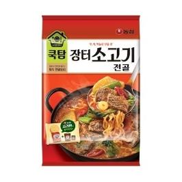 [게릴라특가] 농심 쿡탐 장터소고기전골 525g 1+1봉