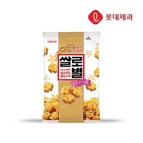 [롯데]쌀로별 오리지널 78g