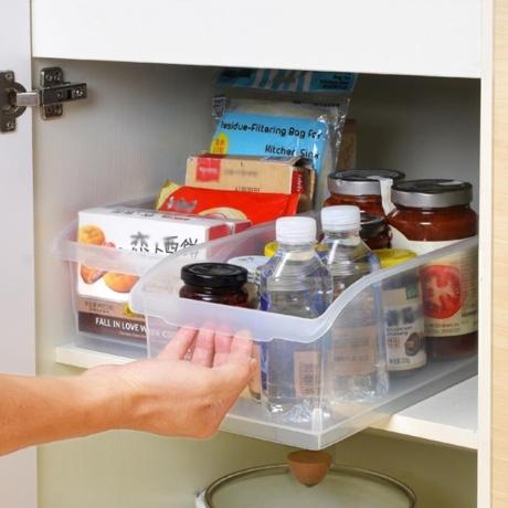오픈형 냉장고정리용기