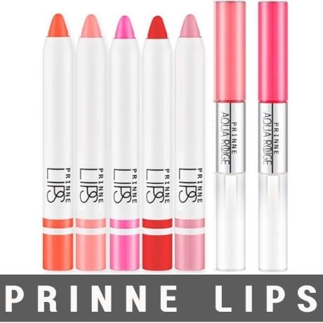 [프린느] 촉촉한 프린느 립스 립 크림 컬러 크레용 아쿠아루즈
