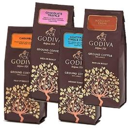 [해외배송] 고디바 커피 284g 4종 택 1 헤이즐넛 카라멜 시그니처 블렌드 초콜릿 트러플
