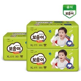 보솜이 액션핏팬티 남/여 3팩