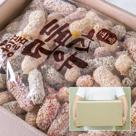정일품 설 추석 명절 유과한과 선물세트 모듬유과 1.5kg (벌크포장)_1EWL
