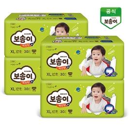 보솜이 액션핏팬티 남/여 4팩