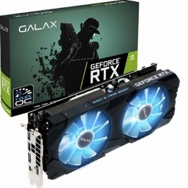 갤럭시 GALAX 지포스 RTX 2070 SUPER EX BLACK OC D6 8GB 그래픽카드