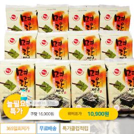 [늘필요특가] 맛있는 명란김 도시락김6g*24봉