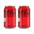 [코카콜라] 코카콜라 제로 355ml 캔 X 24입