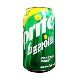 [싸고빠르다] 스프라이트 355ml 1캔 최신제조 뚱캔 음료수 음료 사이다 캔음료