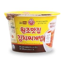 [원더배송] 오뚜기 맛있는 컵밥 원조맛집 김치찌개밥 280G 3개