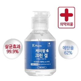 케이팜 크린겔 손소독제 휴대용 60ml X 5개 (에탄올62%)