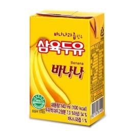 삼육 바나나 두유140ml X 48