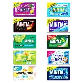아사히 민티아 MINTIA 구강청정 사탕 50알 브리즈 캔디