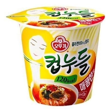 컵누들 매콤한맛(120Kcal) 37.8g X10개