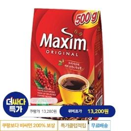 [늘필요특가] 동서식품 맥심 오리지널 500g