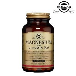 솔가 마그네슘& B6 250정