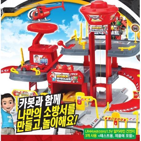 헬로카봇 파이어플레이세트 카봇소방서놀이세트 카봇소방서 크리스마스선물대박