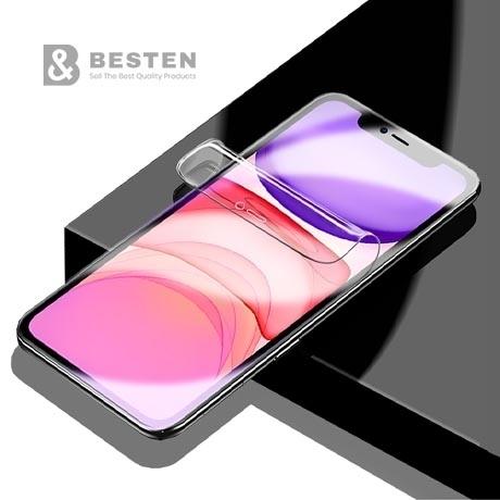 [미쁘다] 풀커버 PET 액정보호 필름 갤럭시S7 S8 S9 S10 5G 노트8 9 V20 30 50 아이폰 7 8 XS  노트10 +