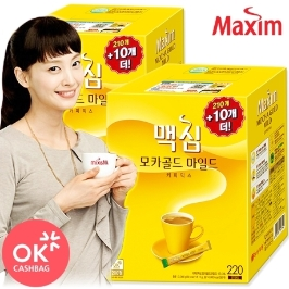 [맥심] 맥심 모카골드 마일드 커피믹스 440T (220+220) /당일출고/무료배송