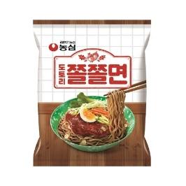 [원더배송] 농심 도토리쫄쫄면 140g 32봉