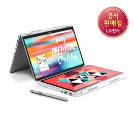 [엘지전자] [쿠폰할인] LG그램 그램 2in1 14TD990-GX50K 그램 투인원! 노트북+테블릿+펜/쿠폰혜택