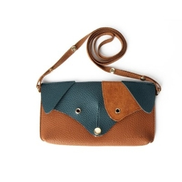 [텐바이텐] Ji Won Dachshund Mini Bag Brown