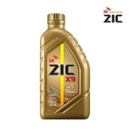 SK ZIC 지크 X9 FS 5W30 1L 100% 합성엔진오일/합성유/연비절감엔진오일