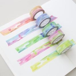 모모팝 수채화 모모마테 디자인 마스킹 테이프