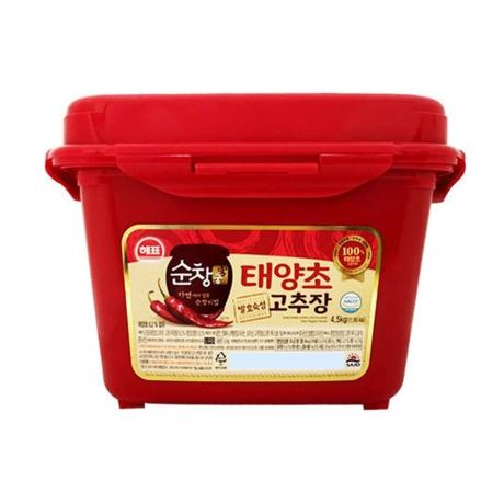 [해표]해표 순창궁 태양초 고추장 4.5kg/양념장 업소용