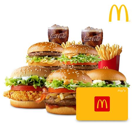 [맥도날드] 맥도날드 금액권 2만원권
